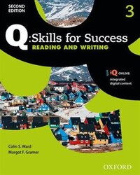 Q Skills for Success: Level 3 Reading and Writing Student Book with iQ Online