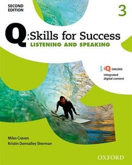Book Q Skills for Success: Level 3 Listening and Speaking Student Book with iQ Online by Miles Craven
