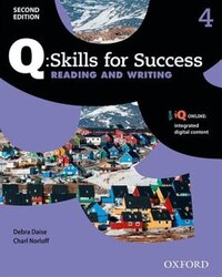 Q Skills for Success: Level 4 Reading and Writing Student Book with iQ Online