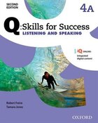 Q Skills for Success: Level 4 Listening and Speaking Split Student Book A with iQ Online