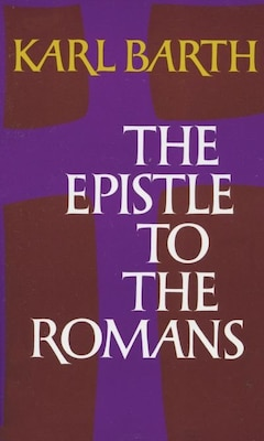 Book The Epistle to the Romans by Karl Barth