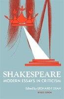 Shakespeare: Modern Essays in Criticism