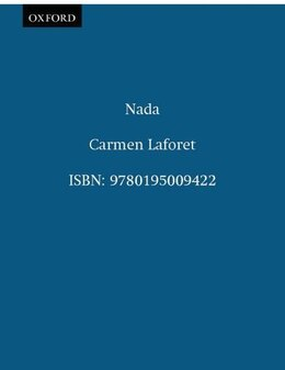 Book Nada by CARMEN LAFORET