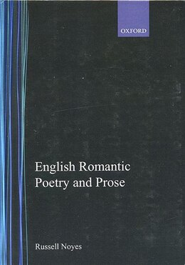 Book English Romantic Poetry and Prose by Russell Noyes