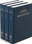 Book The Oxford Dictionary of Byzantium: 3 volumes by Alexander P. Kazhdan