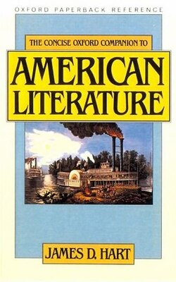 Book The Concise Oxford Companion to American Literature by James D. Hart