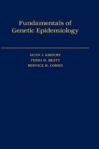 Book Fundamentals of Genetic Epidemiology by Muin J. Khoury