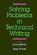 Book Solving Problems in Technical Writing by Lynn Beene