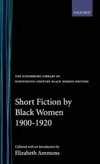 Book Short Fiction by Black Women, 1900-1920 by Elizabeth Ammons