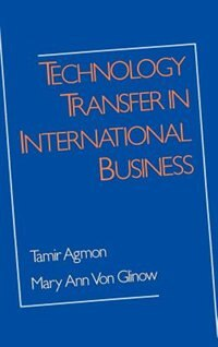 Book Technology Transfer in International Business by Tamir Agmon