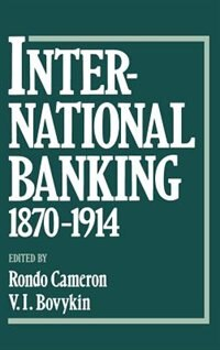Book International Banking 1870-1914 by Boris Ananich