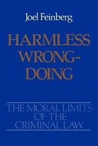 Book Harmless Wrongdoing by Joel Feinberg
