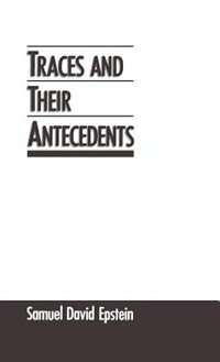 Book Traces and Their Antecedents by Samuel David Epstein