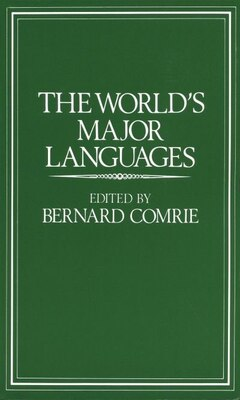Book The Worlds Major Languages by Bernard Comrie
