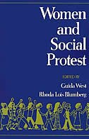 Book Women and Social Protest by Guida West