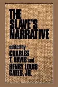 Book The Slaves Narrative by Charles T. Davis