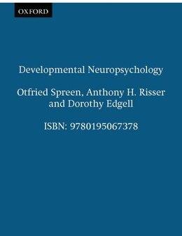 Book Developmental Neuropsychology by Otfried Spreen