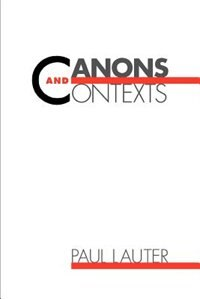 Book Canons and Contexts by Paul Lauter