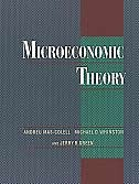 Book Microeconomic Theory by Andreu Mas-colell
