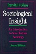 Book Sociological Insight: An Introduction to Non-Obvious Sociology by Randall Collins