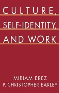 Book Culture, Self-Identity, and Work by Miriam Erez