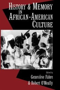 Book History and Memory in African-American Culture by Genevieve Fabre