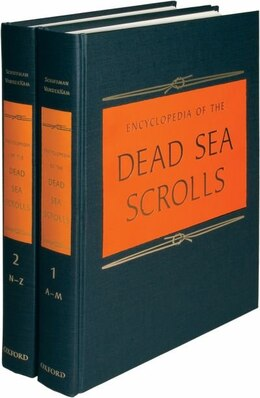 Book Encyclopedia of the Dead Sea Scrolls: 2 Volume set by Lawrence H. Schiffman