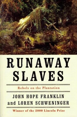 Book Runaway Slaves: Rebels on the Plantation by John Hope Franklin