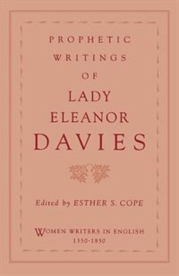 Book Prophetic Writings of Lady Eleanor Davies by Eleanor Davies