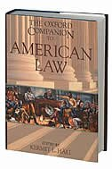 Book The Oxford Companion To American Law by Kermit Hall