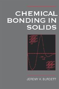 Book Chemical Bonding in Solids by Jeremy K. Burdett