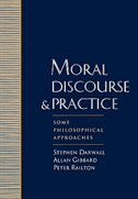 Book Moral Discourse and Practice: Some Philosophical Approaches by Stephen Darwall