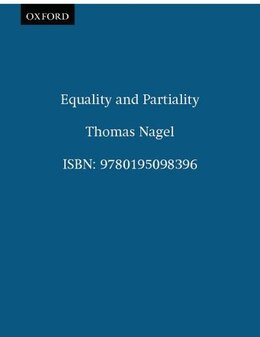 Book Equality and Partiality by Thomas Nagel