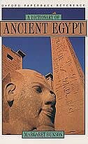 Book A Dictionary of Ancient Egypt by Margaret Bunson