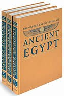Book The Oxford Encyclopedia of Ancient Egypt: 3 Volume Set by Donald B. Redford