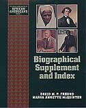 Book Biographical Supplement and Index by David M. P. Freund
