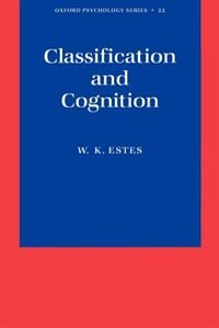 Book Classification and Cognition by William K. Estes