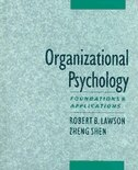 Book Organizational Psychology: Foundations and Applications by Robert Lawson