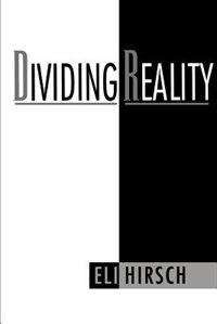 Book Dividing Reality by Eli Hirsch