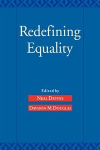 Book Redefining Equality by Neal Devins