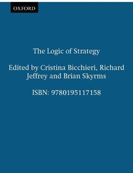 Book The Logic of Strategy by Cristina Bicchieri
