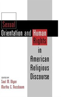 Book Sexual Orientation and Human Rights in American Religious Discourse by Saul M. Olyan