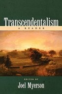 Book Transcendentalism: A Reader by Joel Myerson