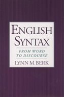 Book English Syntax: From Word to Discourse by Lynn M. Berk