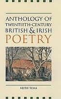Book Anthology of Twentieth-Century British and Irish Poetry by Keith Tuma