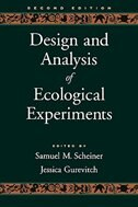 Book Design and Analysis of Ecological Experiments by Samuel M. Scheiner