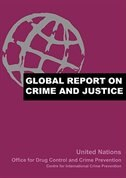 Book Global Report on Crime and Justice by United Nations Office for Drug Control and Crime P