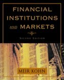 Book Financial Institutions and Markets by Meir Kohn