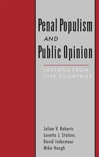 Book Penal Populism and Public Opinion: Lessons from Five Countries by Julian V. Roberts