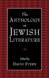Book The Anthology in Jewish Literature by David Stern